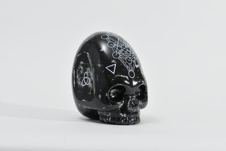 "Crystal skull ""Elongated"""