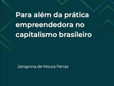 """Lançamento do livro """"Para além da prática empreendedora no capitalismo brasileiro"""""""