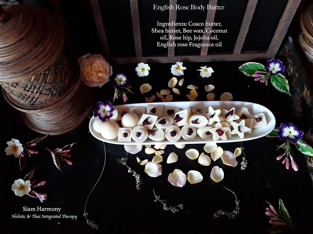 English Rose Body Massage butter