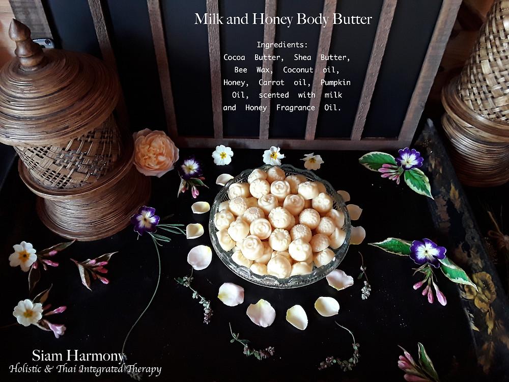 Milk and Honey Body Massage Butter