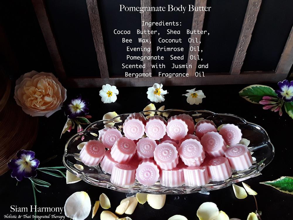Pomegranate Body Massage Butter