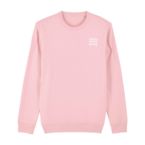 SHOP Merde Sweatshirt Candy Pink