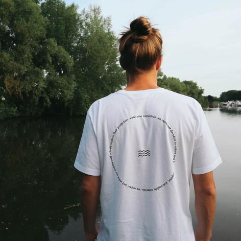 SHOP T-Shirt Rückenwind White