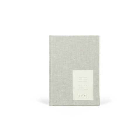 SHOP Weekly Journal Grey