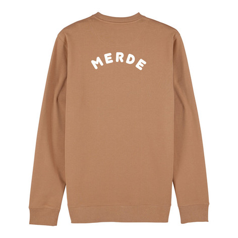 SHOP Merde Sweatshirt Camel