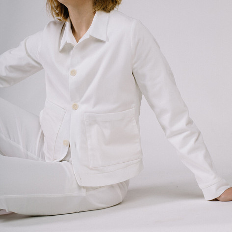 SHOP Soft Workwear jacket - soft white