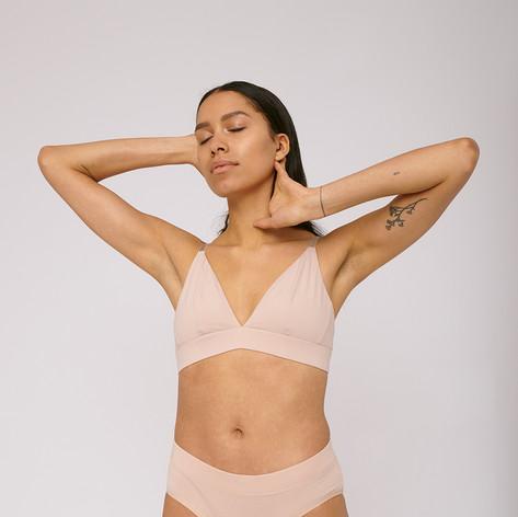 SHOP Organic Cotton Briefs 2-pack Nude