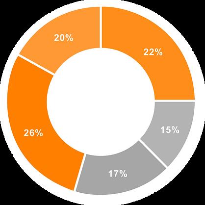 data frustration circle graph