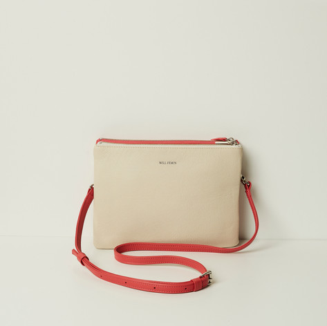 SHOP Double Bag Red/ White