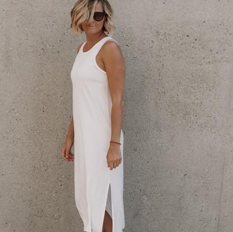SHOP Maui Dress White