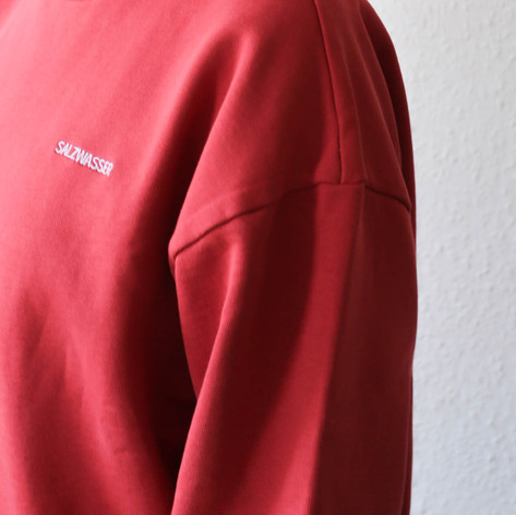 SHOP Sweater Fonte Coral Red
