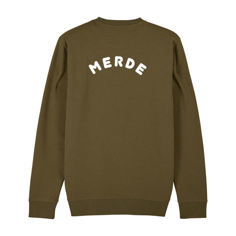 SHOP Merde Sweatshirt Khaki