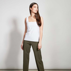 SHOP Pants Marlene Neoprene Olive