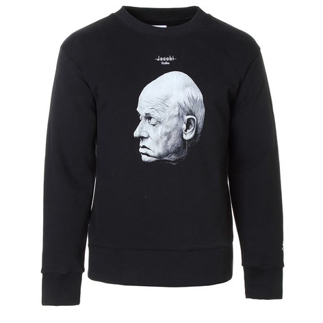SHOP Crewneck Sweatshirt Black