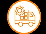 integrated logistics icon