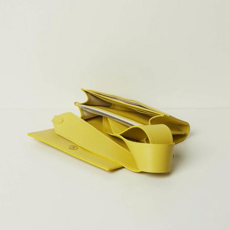 SHOP Mini Bag Black Yellow