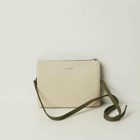 SHOP Double Bag Green/ White