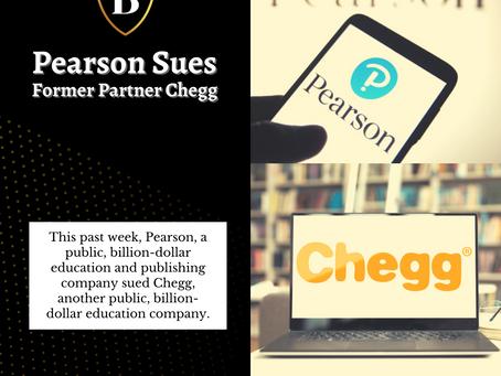 Pearson Sues Former Partner Chegg