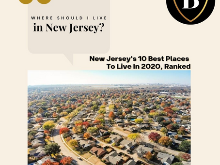 New Jersey's 10 Best Places To Live In 2020, Ranked