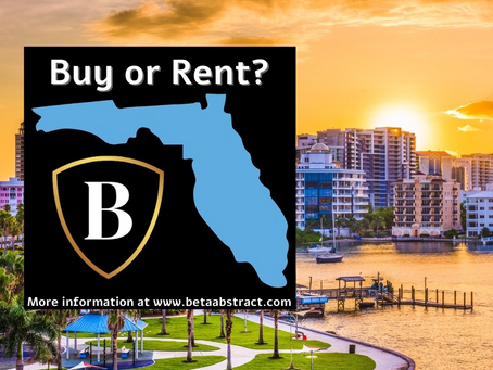 Florida: Buy or Rent?