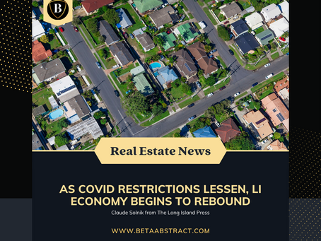 As Covid Restrictions Lessen, Long Island Economy Begins to Rebound
