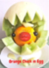 Fruits decorating for kids