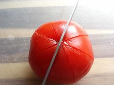 tomato decorating / food garnishing