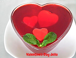 Food Decoration for Valentine's Day