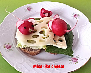 Food decorating for kids / food for children /cheese, fun food for kids