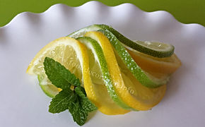 Citrus Garnish / Fruit decoration