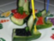 Food decoration /vegetable  garnish
