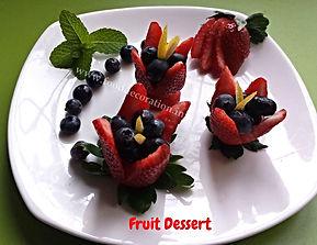 Food decorating / Dessert