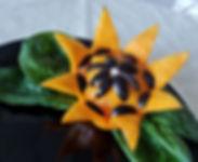 Vegetable decorations / Banquet garnish