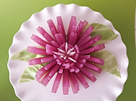 Onion decoration / Food decoration