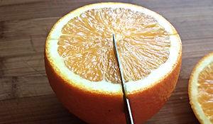 Orange decorating / Food decorating with orange