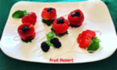 Strawberry dessert, fruit dessert, food, food presentation, strawberry, dessert, клубничный десерт, подача клубники,