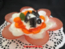 Dessert, Ice Cream with Jelly,  Desser presentation, Ice cream presentation, Food decorating, Ice cream, Jelly presentation, Restaurant, Banquet