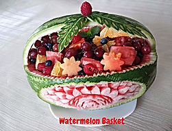 Food Presentation /Watermelon with fruits