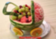 Food decorating for kids / watermelon