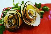 Food decorations /radish decorations