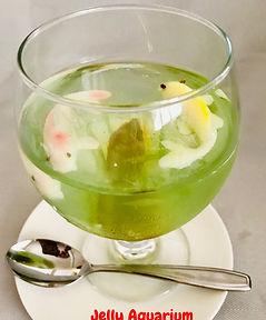 Dessert Jelly Aquarium  presentation