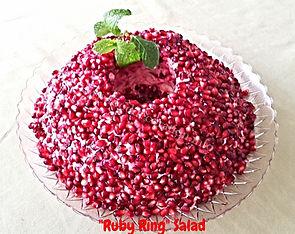 Christmas Salad /  Banquet Dishes
