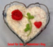 Food Decoration for Valentines's Day