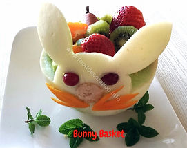 Food decoration for kids  / melon garnish