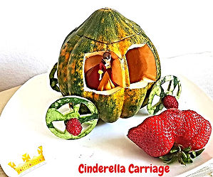 Fruit and vegetable decorating for kids
