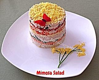 Food decorating / Banquet dish