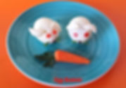 Food decoration for kids / eggs garnish