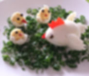 Children food decorations / eggs for kids
