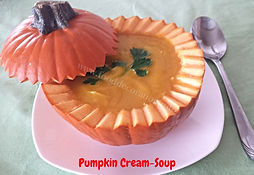 Vegetable soup/ Food Decorationg