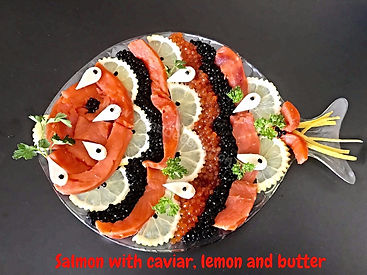 food prewsentation/food decorating/ banquet